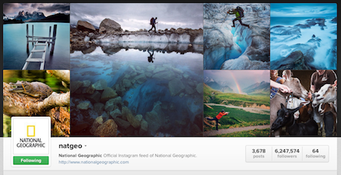 national geographic instagram profile