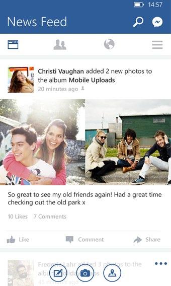 facebook messenger windows update