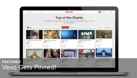 vevo on pinterest