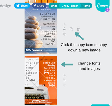 canva image templates