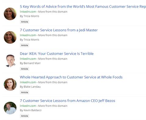 linkedin popular articles
