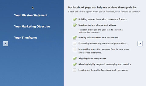 facebook studio objectives