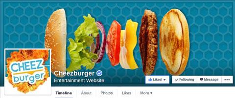 cheezburger facebook cover image