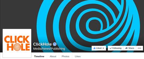 clickhole facebook cover image