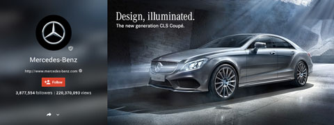 mercedes benz google plus header image