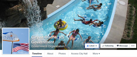 city of olathe facebook cover image