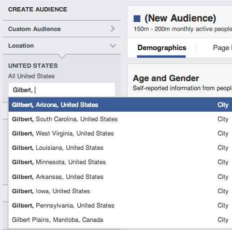 creating a facebook audience