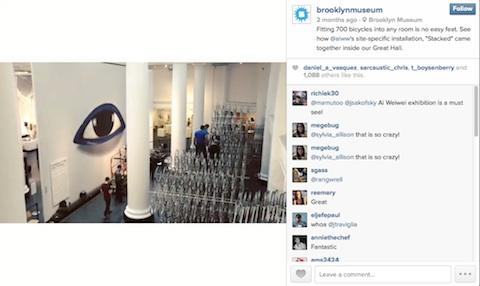 brooklyn museum instagram image