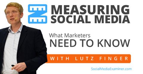 social media measurement with lutz finger