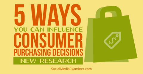consumer purchasing research