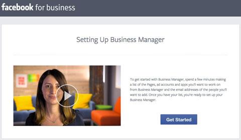 facebook business manager signup