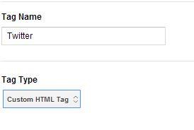 custom google tag