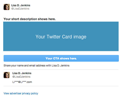 twitter card example