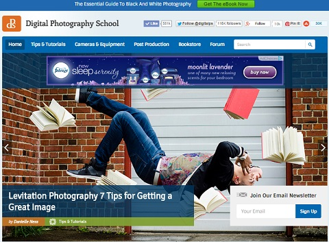 Digital-Photography-School.com has changed a lot since it's launch in 2006.