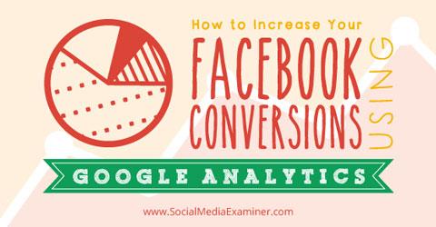 increase facebook conversions