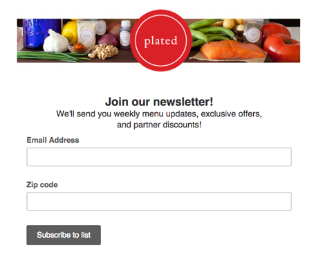 plated email collection