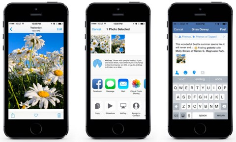 facebook for ios8 update
