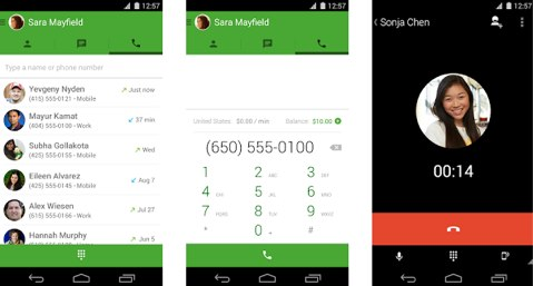 free voice calls with hangouts