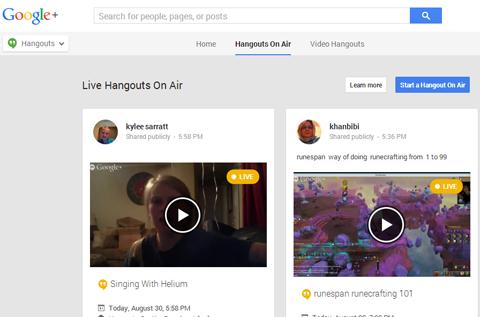 google hoa homepage