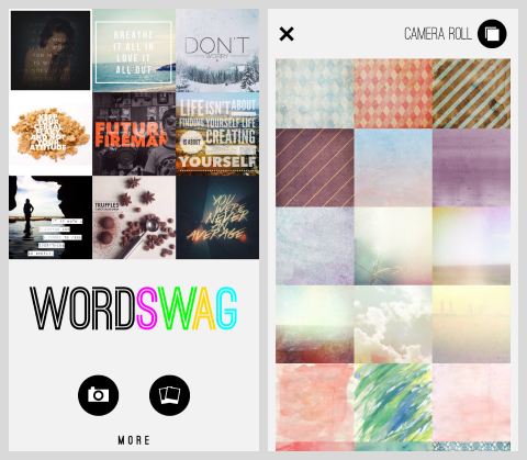 wordswag home page