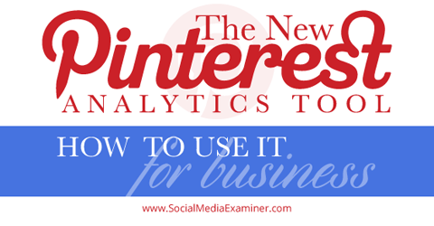 new pinterest analytics