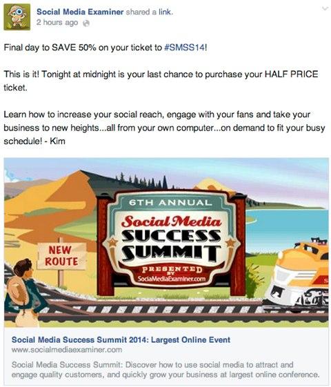 social media success summit offer