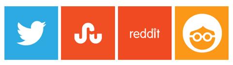 logos for twitter stumbleupon reddit outbrain