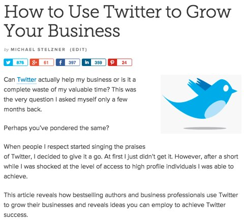 mike copyblogger article