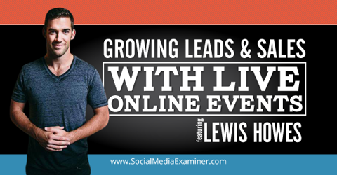 growing leads and sales with webinars