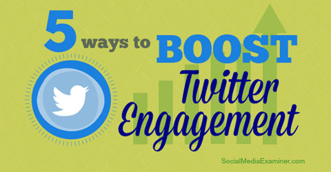 boost twitter engagement