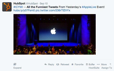 hubspot humor tweet