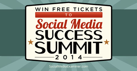 social media success summit ticket giveaway