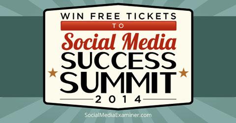 social media success summit ticket giveaway