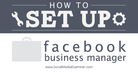 set up facebook business manager
