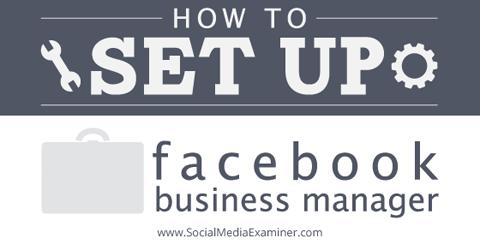 set up facebook business manager
