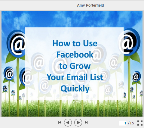 amy porterfield slideshare