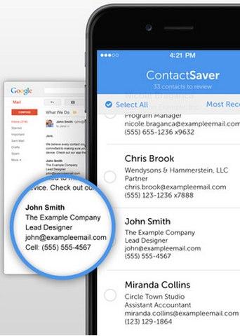 contact saver