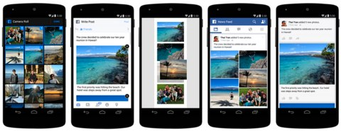 facebook photos on mobile
