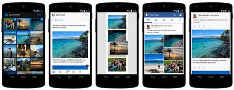 facebook photos on mobile