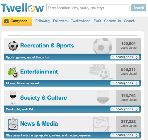 twellow ابزاری برای یافتن هدفمند مخاطبان