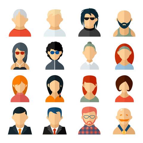 avatar icons shutterstock 207788788