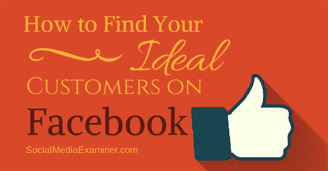 find customers on facebook
