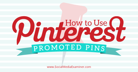 use promoted pins