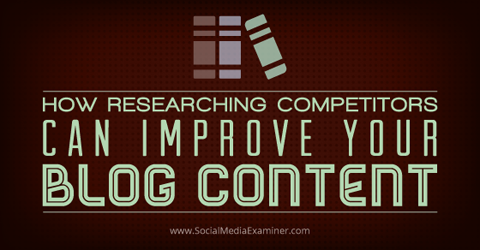 competitor content research