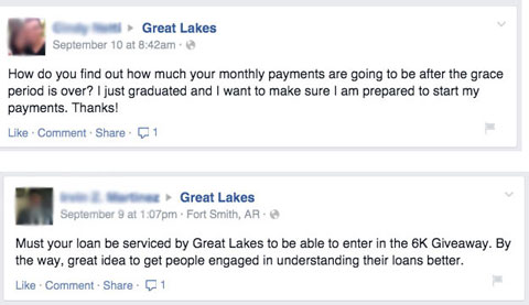 great lakes question responses