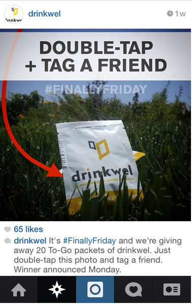 drinkwell instagram contest