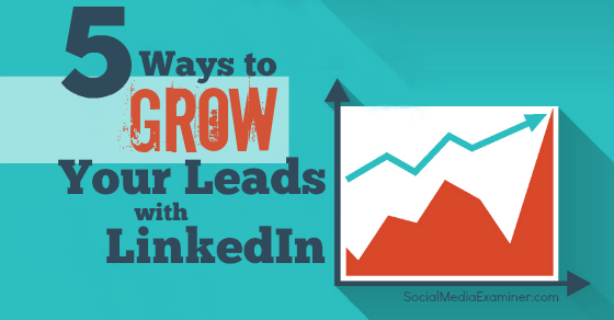 5 Ways to Grow Your Leads With LinkedIn