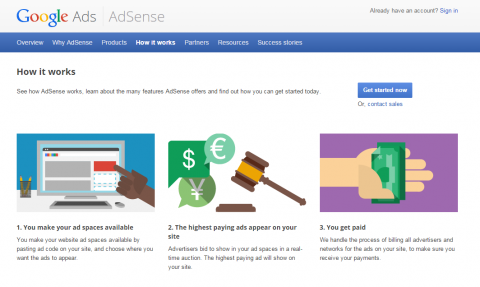 Google AdSense can give you an idea of what each placement on your site might be worth.