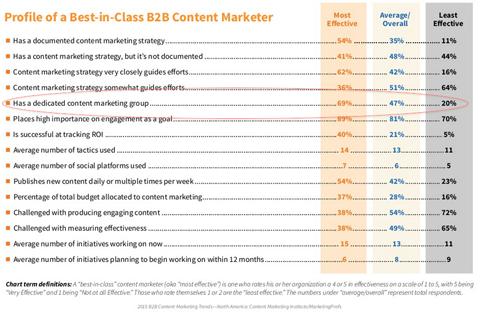 content marketing professional details