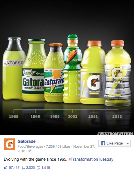 34e6a9a1c29 ... gatorade bottle vintage showed nice how was with Gatorade and evolved  rewarded their packaging